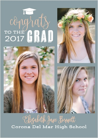 Congrats to the Grad Graduation Announcements