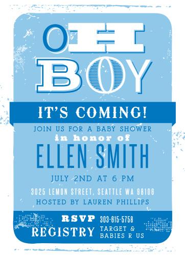 Baby shower invitations for boys basic invite oh boy baby shower invitations filmwisefo