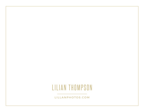 Create your clean, sophisticated letterhead with the Simple Photo Business Stationery.