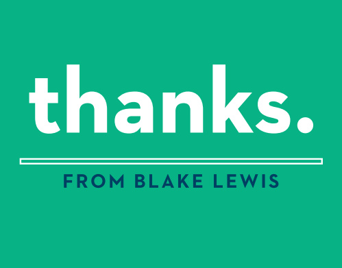 Share your thanks confidently with the Bold Sixteen Thank You Cards.