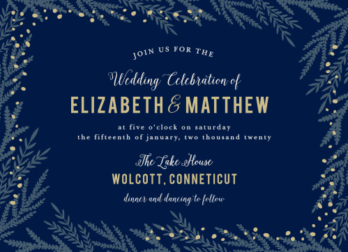 Forest Glow Wedding Invitations