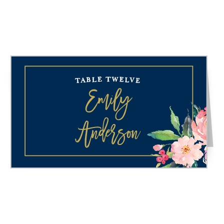 Friends and family will give your style a round of applause when you use the Standing Ovation Place Cards.
