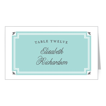 """Make guests say """"Oh là là!"""" With the Parisian Chic Place Cards."""