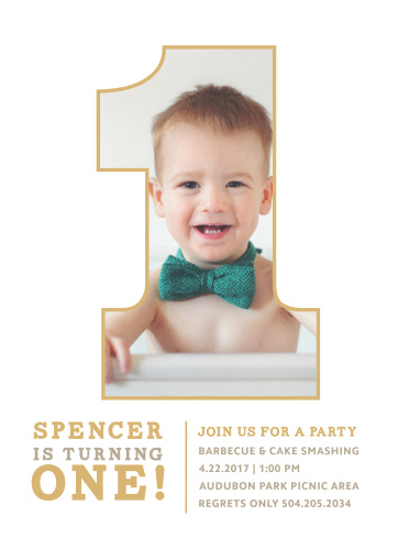 First birthday invitations 40 off super cute designs basic invite simply one foil first birthday invitations filmwisefo