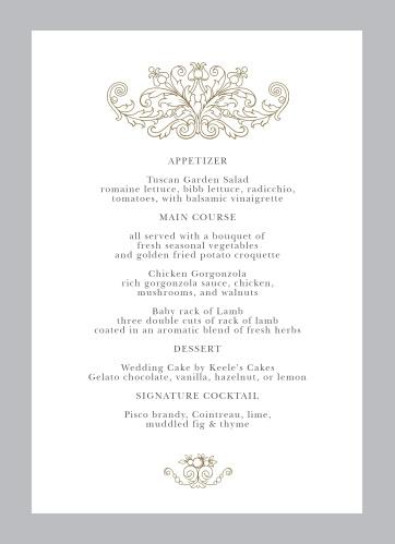 Vintage Damask Wedding Invitations by Basic Invite