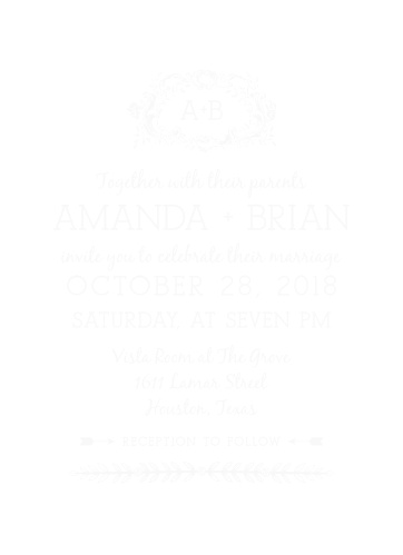 Clear Wedding Invitations Transparent Wedding Invitations Basic