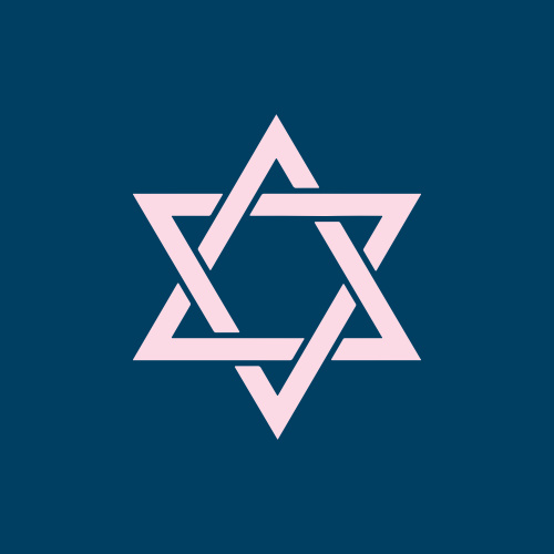 Traditions Bat Mitzvah Stickers are a fantastic addition to any order: featuring a beautiful Star of David.