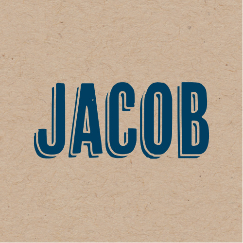 Add your name to the simple but warm design of the Rustic Kraft Bar Mitzvah Stickers.
