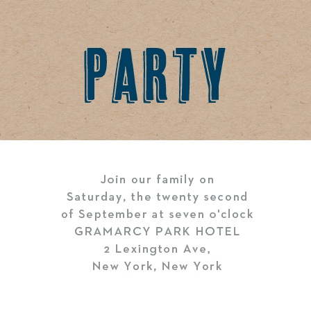 Create simple invites to your event ceremony with the Rustic Kraft Bar Mitzvah Ceremony Cards.