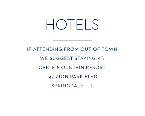 Let your guests find the best hotels with Tallis Foil Bar Mitzvah Lodging Cards.