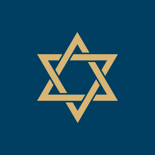 Traditions Foil Bar Mitzvah Stickers are a fantastic addition to any order: featuring a beautiful Star of David.