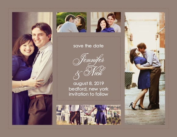 The Elegant Photo Collage has all of your important wedding