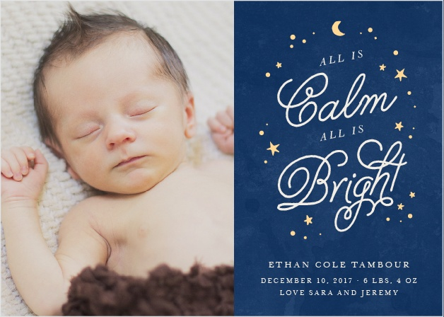 Starry Night Holiday Cards
