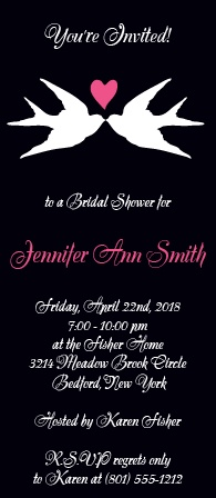 Make sure your bridal shower starts off on the right foot with the perfect bridal shower invitation.