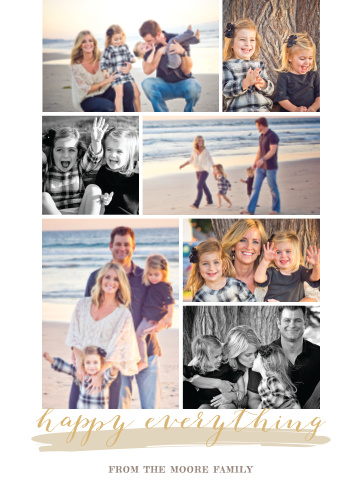 With an assortment of wonderfully touching photos decorating the front cover of our Gallery Holiday Foil Cards, you can give your loved ones the gift of lovely holiday wishes.