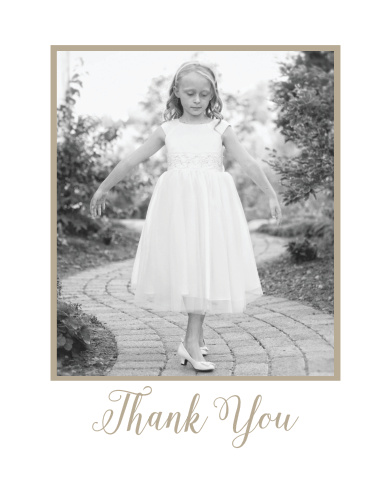 Simple and beautiful, Back To Nature Photo LDS Baptism Thank You Cards help you say what needs to be said in as few words as necessary.