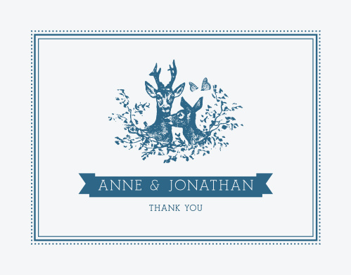 Make sure your guests know how much you appreciate them using the My Dear Thank You Cards.