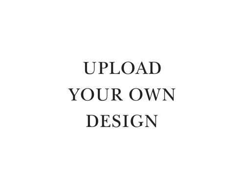 Upload your own design and let us print your landscape thank you cards for you.