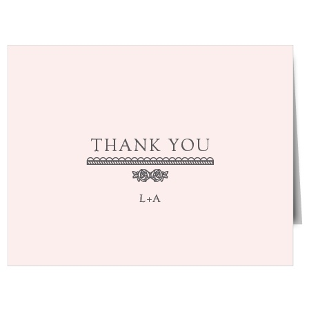 Make sure your guests know how much you appreciate them using The Collector Thank You Cards.