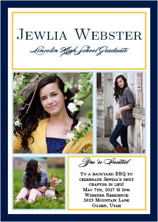 Moving On Graduation Announcement