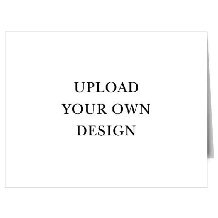 Upload Your Own Landscape Baptism Thank You Cards