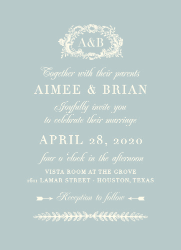 Your guests will adore the In Cursive Wedding Invitations once they receive them.