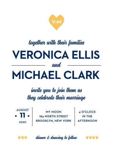 Your guests will adore the Common Thread Wedding Invitations once they receive them.
