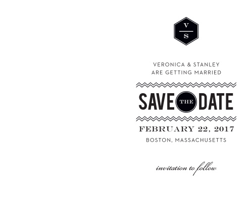 Ensure that your friends and family know when your wedding will be using the Travel in Style Save-the-Date Cards.