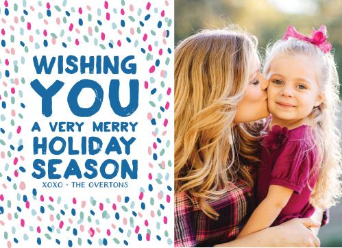 Send your loved ones some seasonal cheer with the Vivid Print Photo Holiday Cards.