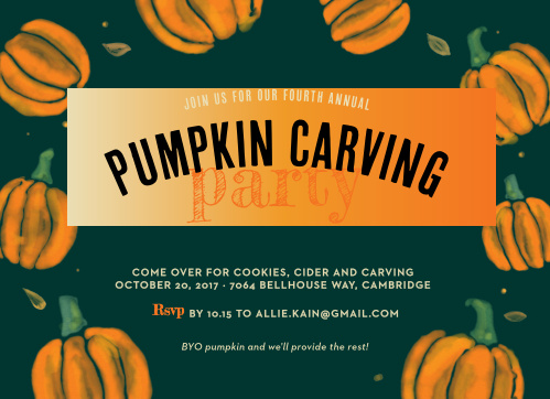 There's nothing more iconic on Halloween night than a jack-o-lantern, and there's nothing more fun than making your very own with your closest friends and family!