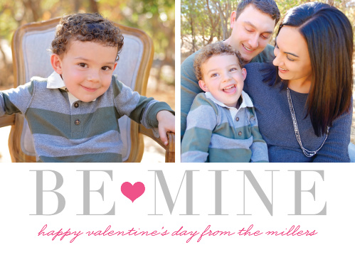 The Be Mine Foil Valentine's Day Cards will warm the hearts of whoever is lucky enough to receive one!