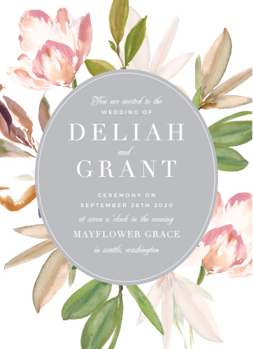 Your guests will adore the Darling Watercolor Wedding Invitations once they receive them.