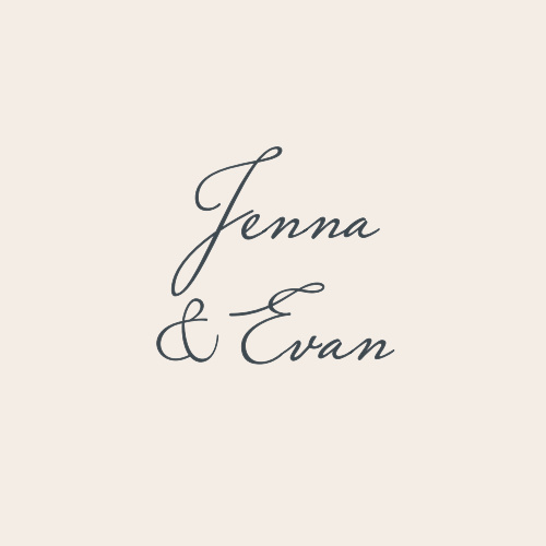 Small, clean, and ceremoniously simple, our Indigo Infatuation Wedding Stickers are perfect for representing your wedding.