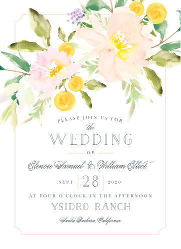 Your guests will adore the Melodious Melanie Wedding Invitations once they receive them.