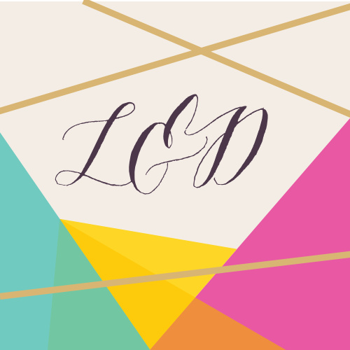 Our Brilliant Gem Wedding Stickers are full of brightly colored facets outlined by our raised gold foil.