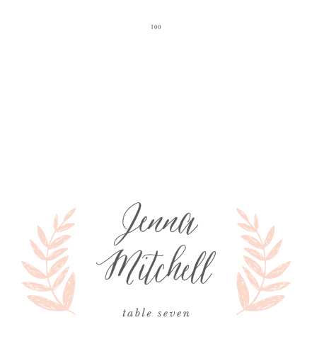 wedding wreath place cards - Wedding Place Cards