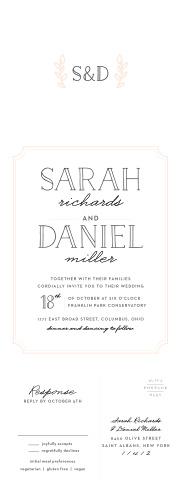 Type Frame Seal U0026 Send Wedding Invitations