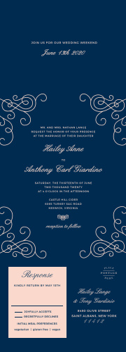 Seal and send wedding invitations all in one wedding invitations modern love seal send wedding invitations filmwisefo