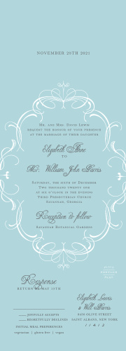 Seal and send wedding invitations all in one wedding invitations flourish charm seal send wedding invitations filmwisefo