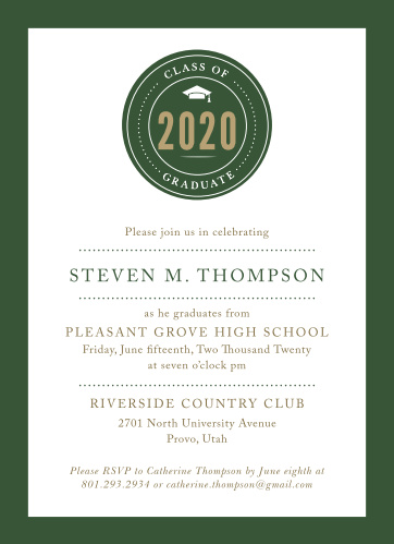 Our School Pride Graduation Invitations are the perfect pick for your graduation.