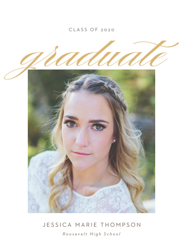 Our Drops of Sun Graduation Announcements are a wonderful way to spread the news about your graduate.