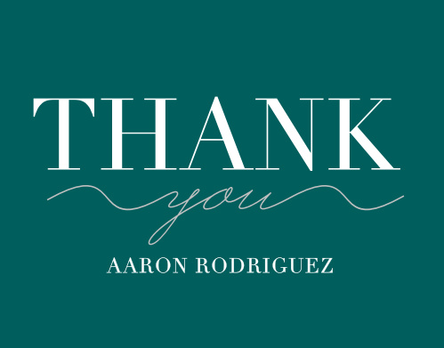 Our Made the Grade Graduation Thank You Cards are a perfect fit for your graduate!