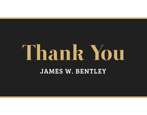 Send thanks to everyone who celebrated your accomplishments with you with our Bold Success Graduation Thank You Cards.