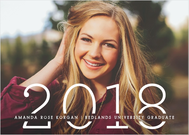 the biggest year graduation announcements