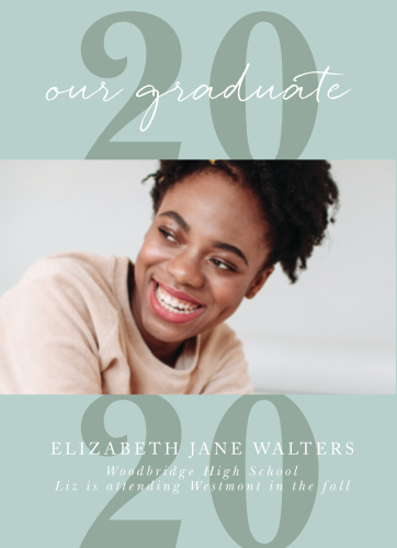 Announce your big accomplishment to your friends and family with our stylish and subtle This Year Graduation Announcements.