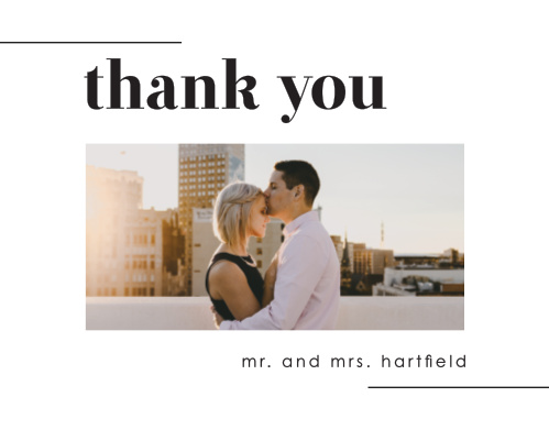 Our Mod Type Registry Cards utilize the same gorgeous design and color scheme as several other cards in the Mod Type wedding suite.