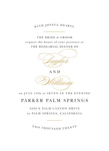 elegant dinner invitations