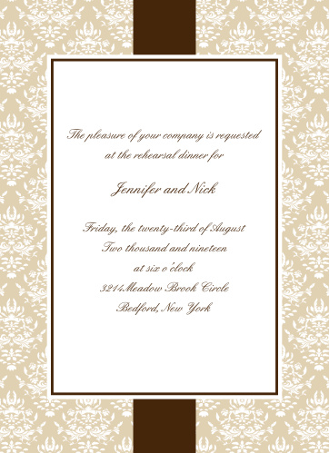 The Vintage Classic Rehearsal Dinner Invitations are pleasing to the eye.