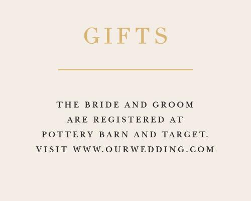 Best wedding registry card wording contemporary styles ideas customizable wedding registry cards by basic invite junglespirit Gallery