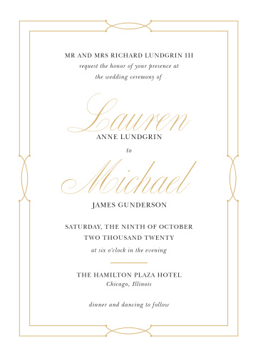 Our Love Knots Wedding Invitations give classic elegance a twist!